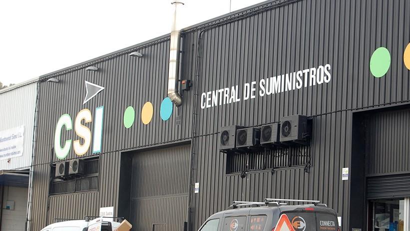 Edificio de CSI Central de Suministros